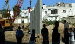 لبنان- الجدار المحيط بمخيم عين الحلوة للاجئين