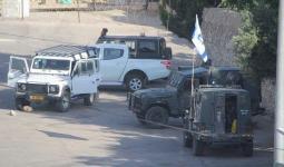 خلال اقتحام قوات الاحتلال في إحدى مناطق الضفة المحتلة
