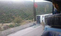 قضاء إمرأة وإصابة طفل جراء انقلاب حافلة غادرت خان الشيح بعد اتفاق مع قوات النظام