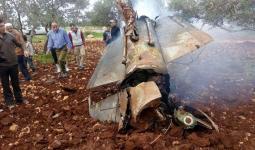 طائرة اف 16 التي اسقطتت