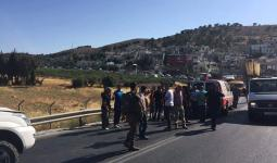 مستوطن يدهس فلسطينية على مدخل مخيّم العرّوب