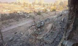 إصابة مدنيين اثنين واستمرار القصف على مخيّم اليرموك