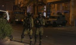 صورة أرشيفية لتوغل قوات الاحتلال في احدى مناطق الضفة المحتلة