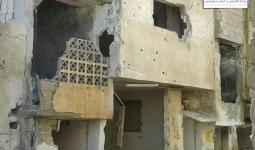 أضرار ماديّة في مخيّم درعا جرّاء قصف لدبابات النظام السوري