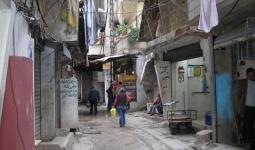 أحد أحياء مخيم شاتيلا