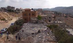 مالاحتلال يشن حملة هدم وتدمير وإغلاق لمنازل شهداء وأسرىنزل الشهيد أسامة عطا