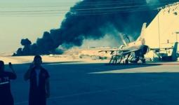 من مكان تحطم الطائرة