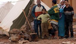 فلسطينيو العراق على الحدود العراقية الاردنية