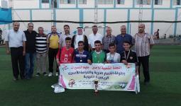 فريق اللجنة الشعبية الفائز بالبطولة