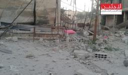 مخيم خان الشيح.. الحصار في يومه الـ35 وأربع إصابات في صفوف المدنيين جراء القصف
