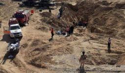 خمسة شهداء في النفق المُستهدف.. والاحتلال يبدأ البحث عن الجثامين لاحتجازها