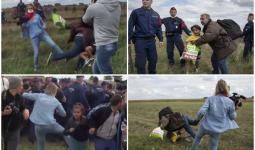 محكمة مجريّة تحكم بالسجن على المصوّرة التي عرقلت لاجئين أثناء هروبهم من الشرطة