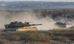 استهداف صهيوني بالمدفعيّة وإطلاق النار في عدة مناطق بقطاع غزة