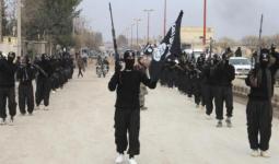 صورة أرشيفة لعناصر من تنظيم داعش