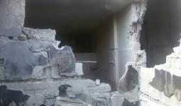 صورة أرشيفية من قصف سابق