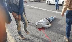 الشاب الفلسطيني الذي دهسته حافلة للمستوطنيين