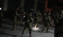 اقتحامات واعتقالات بالضفة المحتلة تطال مخيمات شعفاط والفارعة والجلزون