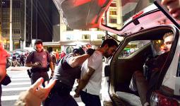 لحظة اعتقال اللاجئ الفلسطيني نور الدين السيد