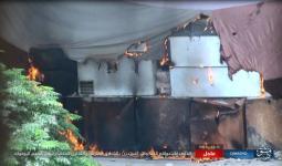 استهداف أحد المنازل من قبل تنظيم داعش