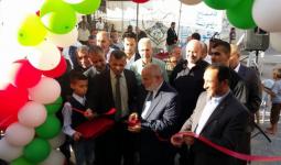 خلال افتتاح جمعية الرياض الخيرية مشروع البئر الارتوازي