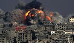 إصابات جراء قصف الاحتلال أهداف في قطاع غزة