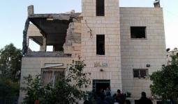 القدس المحتلة- تفجير منزل الشهيد نمر الجمل في القدس المحتلة