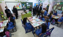 خلال الزيارة الميدانية إلى مدرسة القصور الإعدادية للبنات