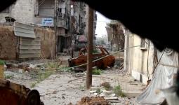 أحد محاور التماس بين بلدة يلدا ومخيم اليرموك