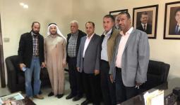 نائب أردني يبحث مع وفد من أبناء قطاع غزة وضعهم في الأردن