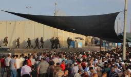 الآلاف يتوجّهون لأداء صلاة الجمعة الثانية في المسجد الأقصى