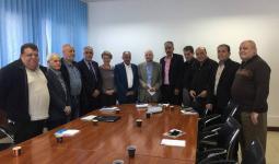 خلال لقاء المدير العام للاونروا في لبنان مع وفد من لجنة المتابعة المركزية