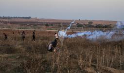شهيد وإصابات برصاص الاحتلال في مواجهات شرقي مخيم البريج وسط قطاع غزة