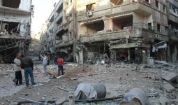 ساحة الريجة في مخيم اليرموك - (ارشيف)