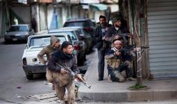 داعش يهاجم المناطق التي يحاصرها في مخيّم اليرموك