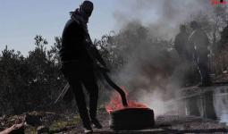 فلسطين المحتلة- مواجهات كفر قدوم