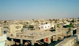 بلدة المزيريب جنوبي سوريا