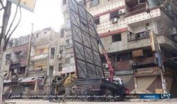 مخيم اليرموك.. داعش تحصن مواقعها من جديد وتطلب من فتح الشام تسليمها أحد قطاعاته والأخيرة ترفض