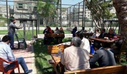 خلال اللقاء التحضيري للمعرض التراثي الثقافي الفلسطيني