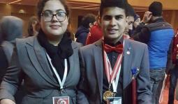 طالب فلسطيني يفوز بالجائزة الذهبية في مهرجان دولي للهندسة والعلوم والتكنولوجيا