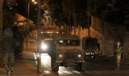 اقتحامات ومداهمات واسعة واعتقال 11 مواطنا من مدن الضفة المحتلة