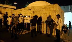 اقتحام قوات الاحتلال ومستوطنين لقبر يوسف ودهس فلسطيني