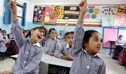 صورة ارشيفية لإحدى مدارس الأونروا في قطاع غزة