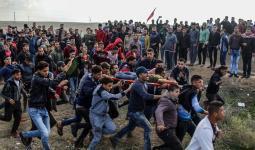 جانب من المواجهات مع الاحتلال الصهيوني