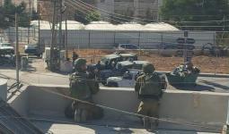 خلال اقتحام قوات الاحتلال في مناطق من الضفة المحتلة