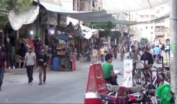 صورة أرشيفية من أسواق جنوب دمشق