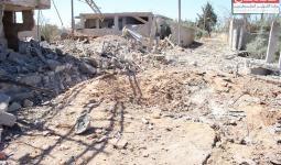 مخيم خان الشيح.. استهداف المنفذ الوحيد للمخيم بأكثر من 16 برميل (أرشيفية)