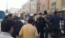 خلال حملة ازالة البسطات في مخيم العقبة