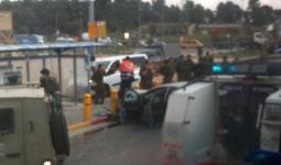 توغل لقوات الاحتلال في مكان عمليه اطلاق النار