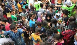 جانب من النشاط الثقافي في مخيم عين الحلوة
