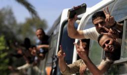 أمن السلطة يُطالب الأسرى المحررين بإزالة خيمة الاعتصام برام الله المحتلة